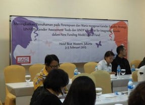 Gender Equality Strategy, Gender Assessment Tools dan Global Fund New Funding Model