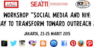 "Workshop ""Social Media and HIV: a way to transform toward outreach 2.0"""