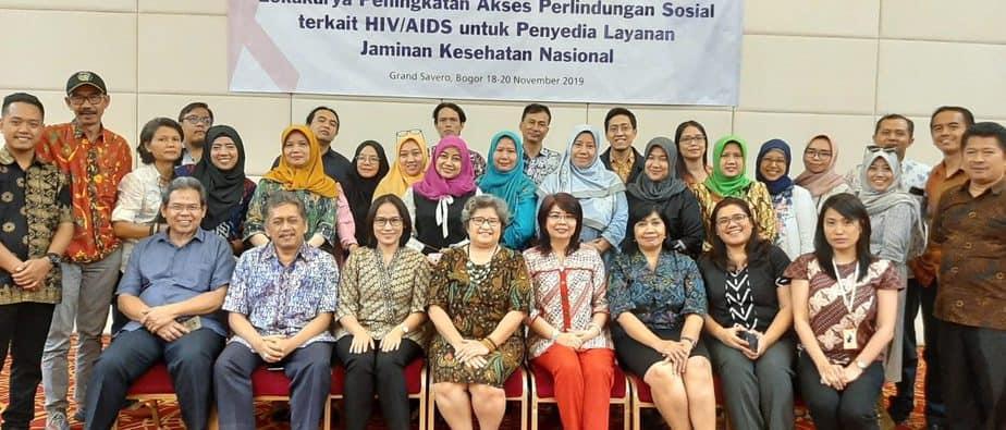 Lokakarya Peningkatan Akses Perlindungan Sosial pada Layanan Kesehatan Terkait HIV