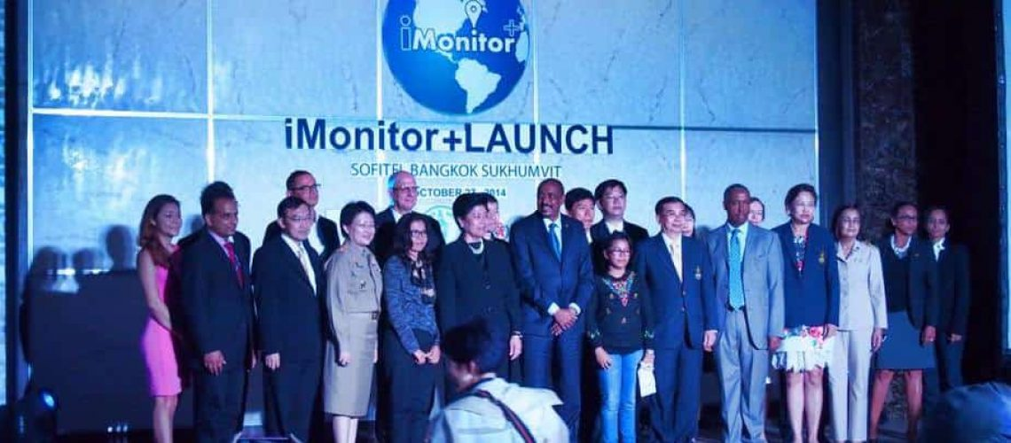 launching iMonitor+ in Bangkok